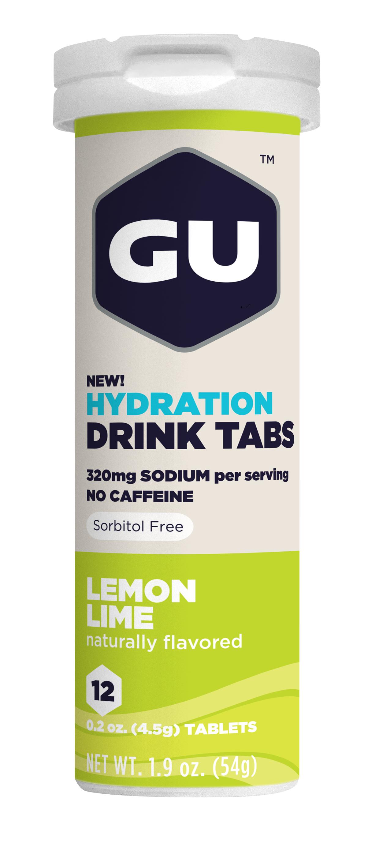 Tabletas de Hidratación GU